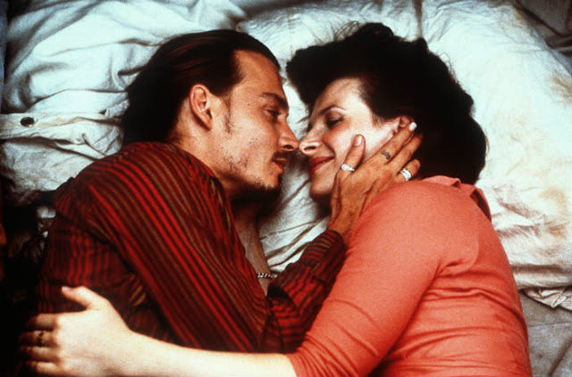 'Chocolat' (2000): A Good But Underrated Period Drama with Johnny Depp. A review of the 2000 Miramax film. Text © Rissi JC
