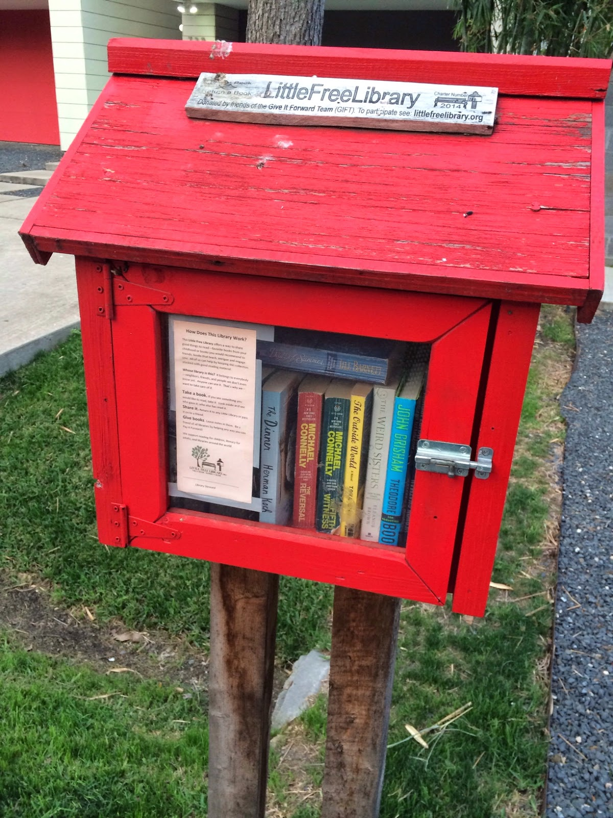 Little Free Library Trendy in Texas