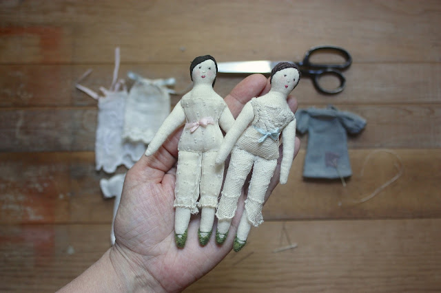 Ann Wood, artists, artist interview, rag dolls, art dolls, My Giant Strawberry