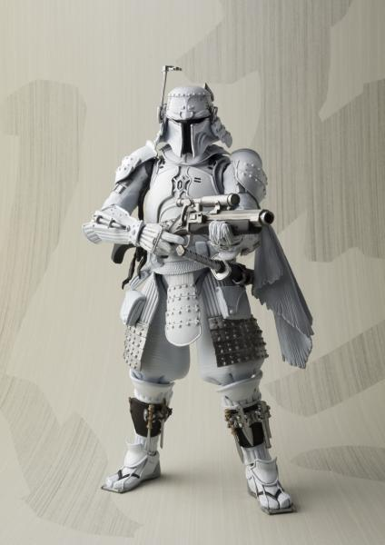 San Diego Comic-Con 2017 Exclusive Star Wars Ronin Boba Fett Prototype Edition Meisho Movie Realization Action Figure