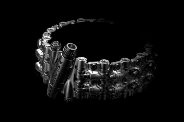 Armadillo 161 Bracelet by Rogue DZN