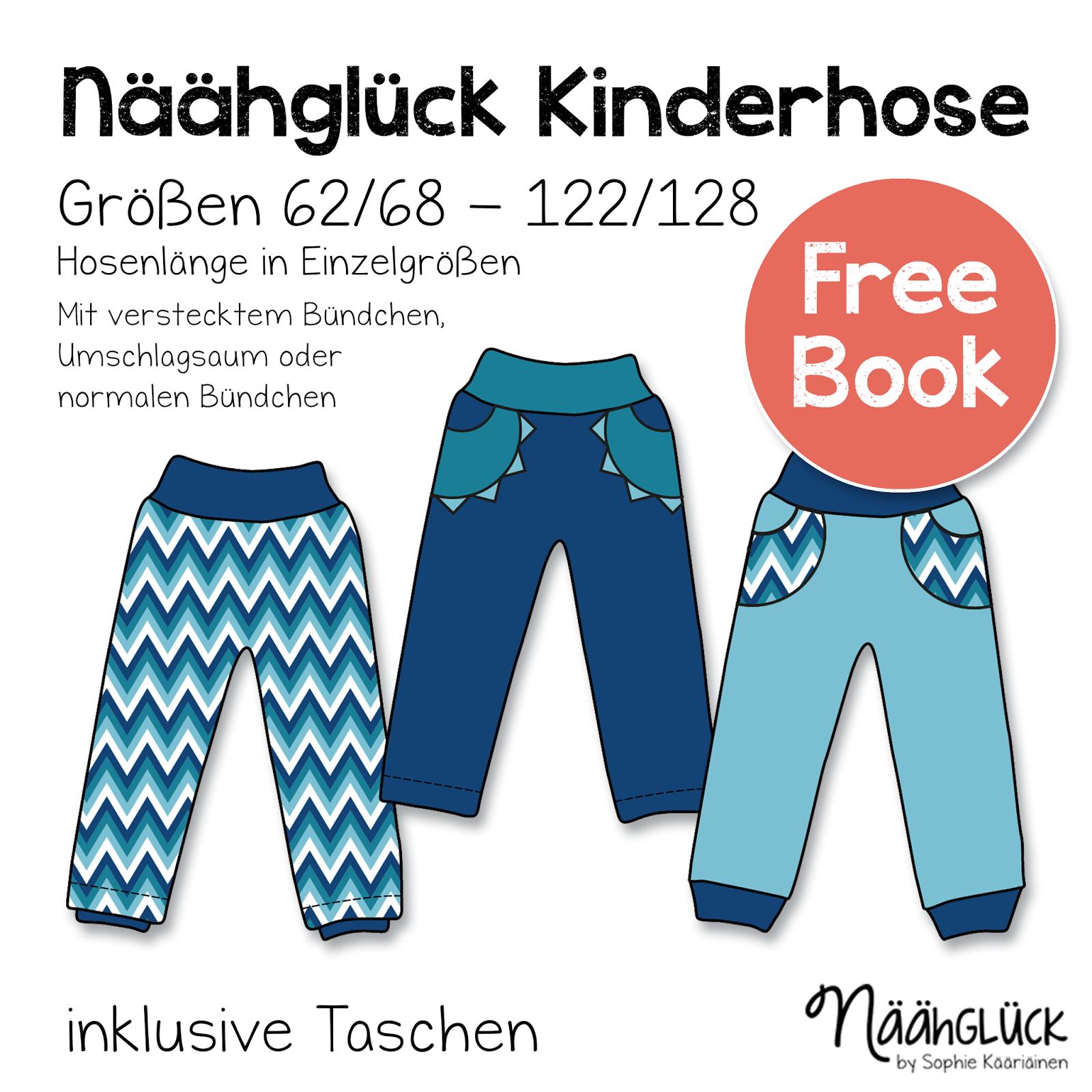 Näähglück by Sophie Kääriäinen: Kinderhose