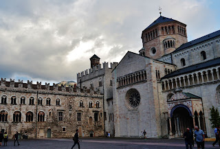 The Piazza del Duomo in Trento