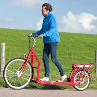 Le Lopifit est un vélo avec un tapis de marche qui vous fait avancer.