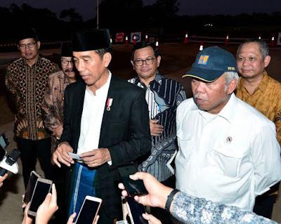 Tinjau Ruas Tol Gempol-Pasuruan Seksi 2, Presiden Jokowi Berharap Bisa Digunakan Saat Lebaran - Info Presiden Jokowi Dan Pemerintah