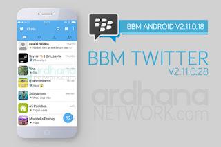 BBM Mod Twitter V2.11.0.18 .Apk