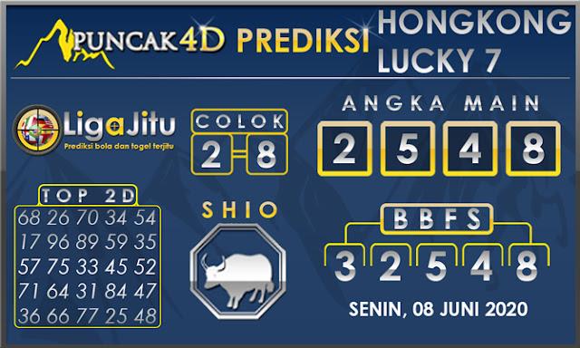 PREDIKSI TOGEL HONGKONG LUCKY 7 PUNCAK4D 08 JUNI 2020