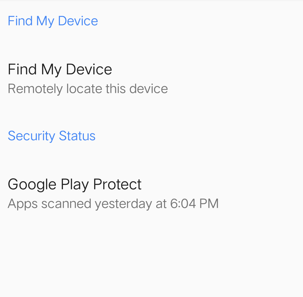 Find My Device - Safirul Amar