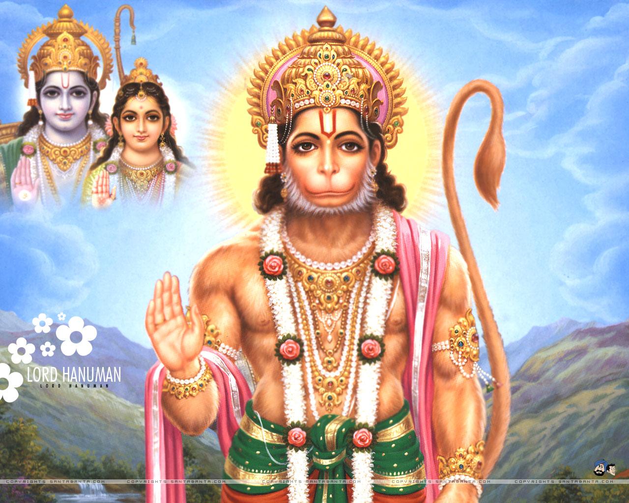 Hindu Gods Wallpaper For Desktop: Hindu Gods HD Wallpapers: Lord Hanuman Wallpapers