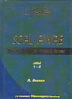 Soal Jawab Tentang Berbagai Masalah Agama Jilid 1 - 2 dan Jilid 3 - 4 - A. Hassan (2 buku) – 1 Set