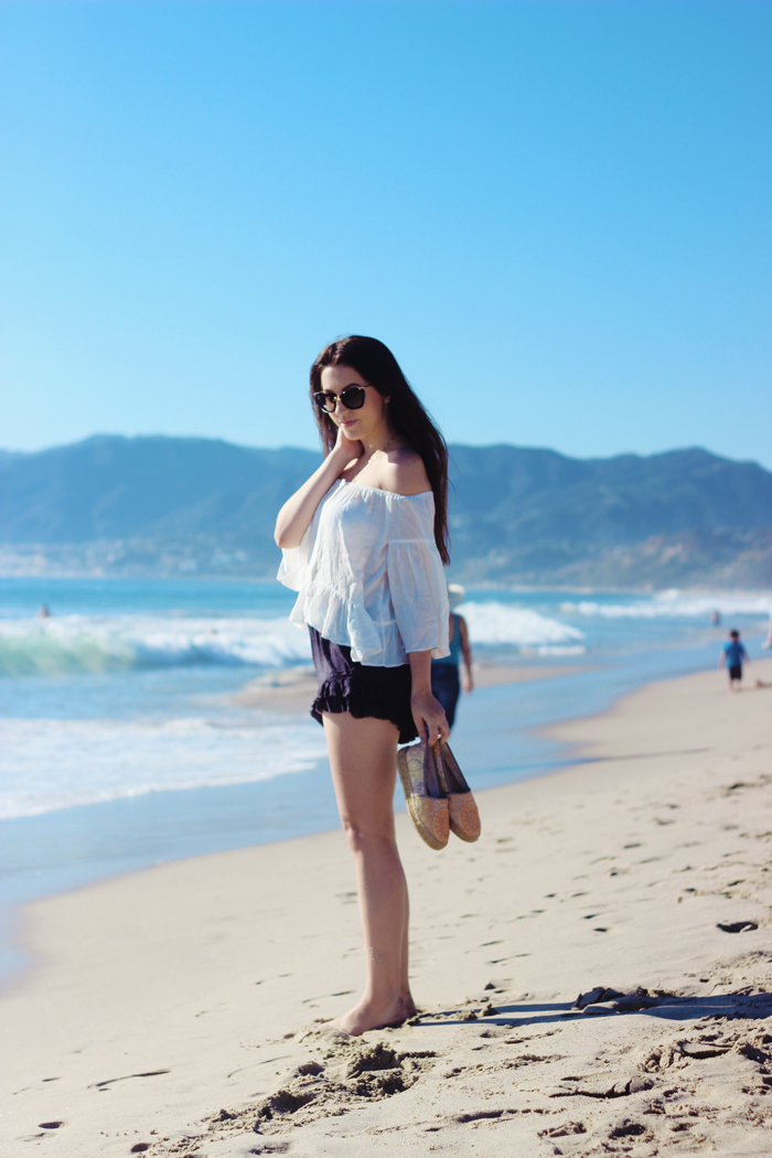 aimerose travel blog santa monica beach