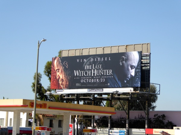 Last Witch Hunter billboard