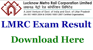 Lucknow Metro SC/TO Result 2018-19 Download
