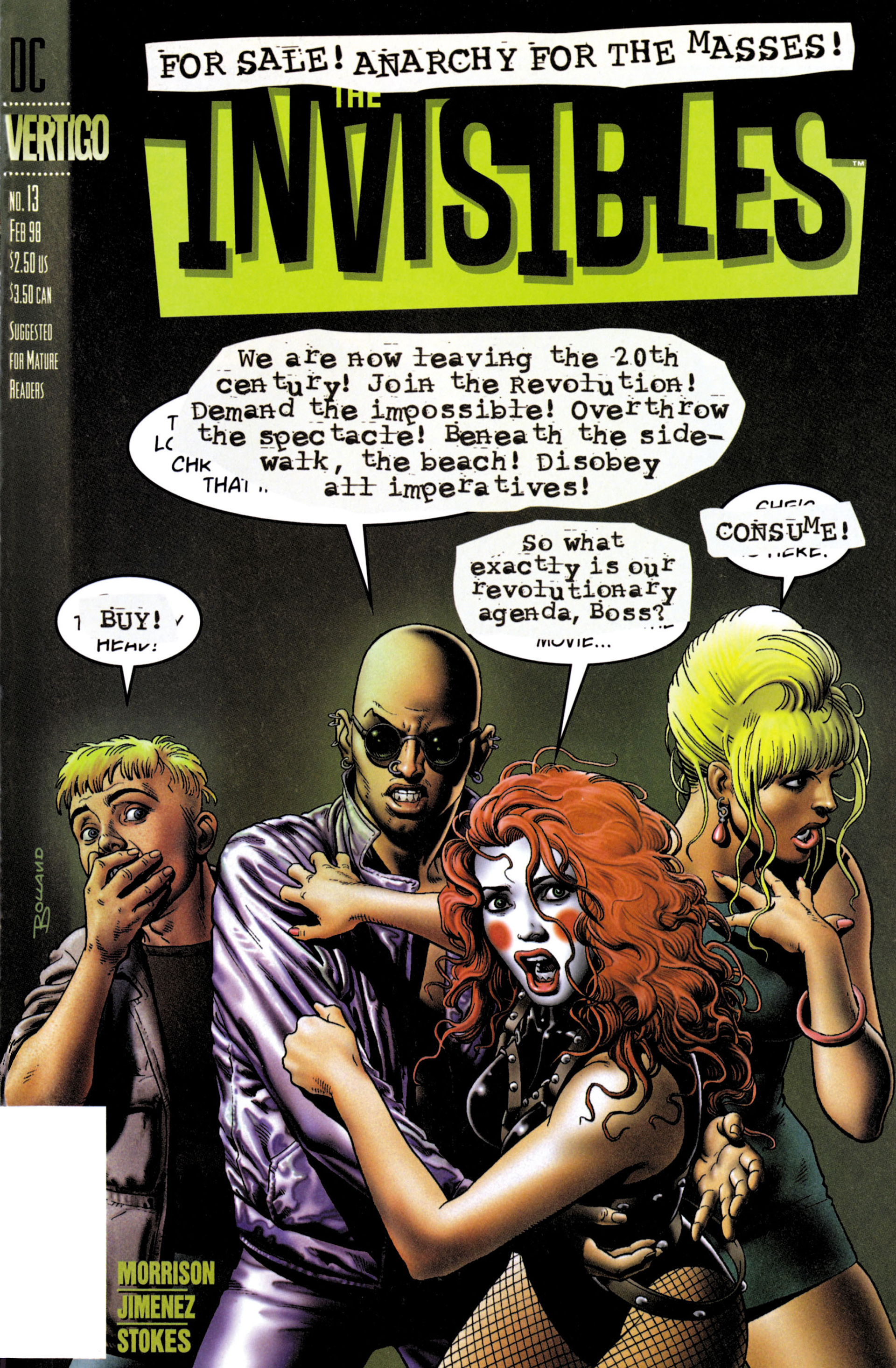 The Invisibles (1997) issue 13 - Page 1
