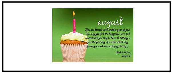 Sweetest Happy New Month Wishes To Send For August 2018