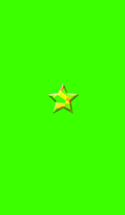 Star Green button
