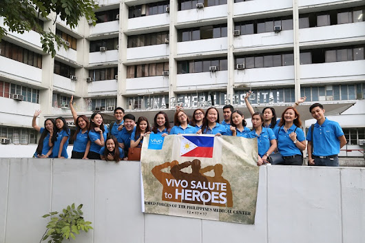 Angel Macaraig: Salute to heroes: Vivo gives back to Marawi soldiers by way of a special outreach affair