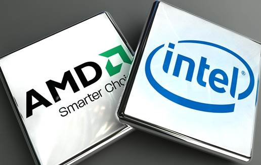 intel processor and amd processor