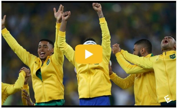 Brasil gana oro Río 2016