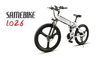 Opinión Bicicleta SAMEBIKE LO26