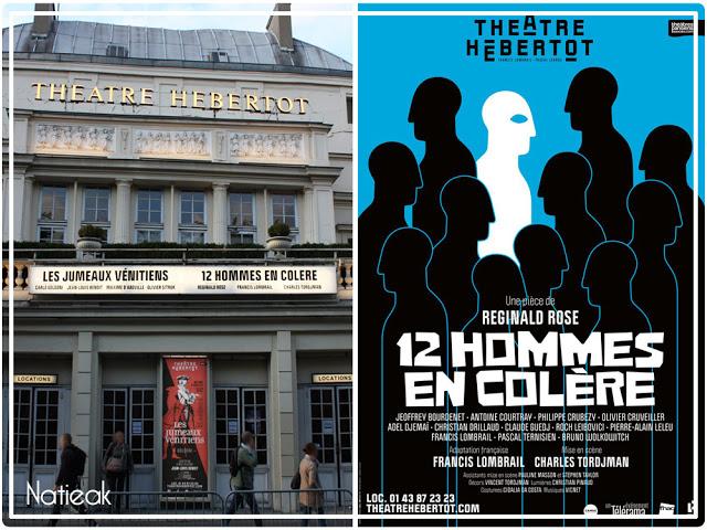 12 hommes en colère théâtre Hébertot