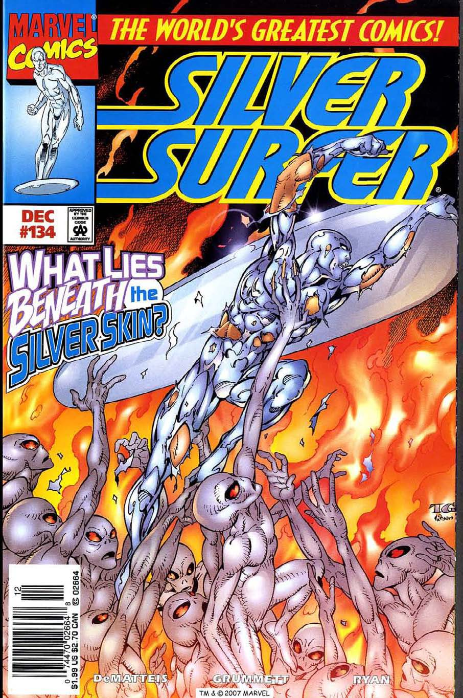Read online Silver Surfer (1987) comic -  Issue #134 - 1