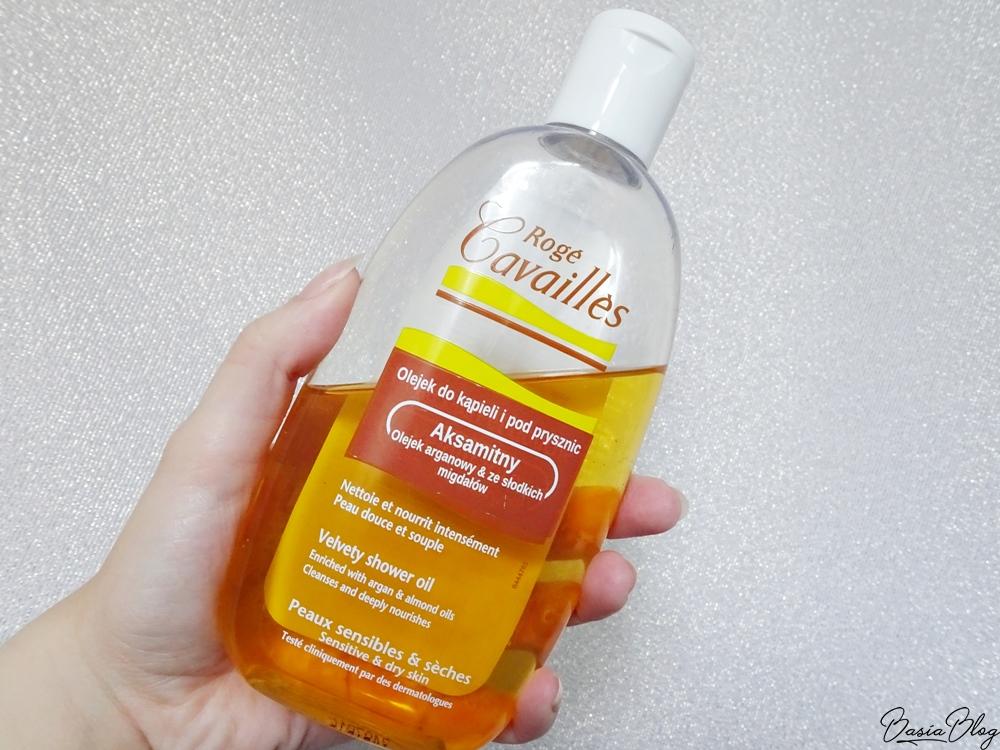 Roge Cavailles aksamitny olejek do kąpieli i pod prysznic