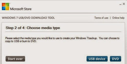 Windows 7 USB Tool