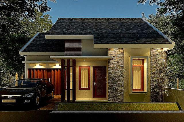model atap rumah mewah