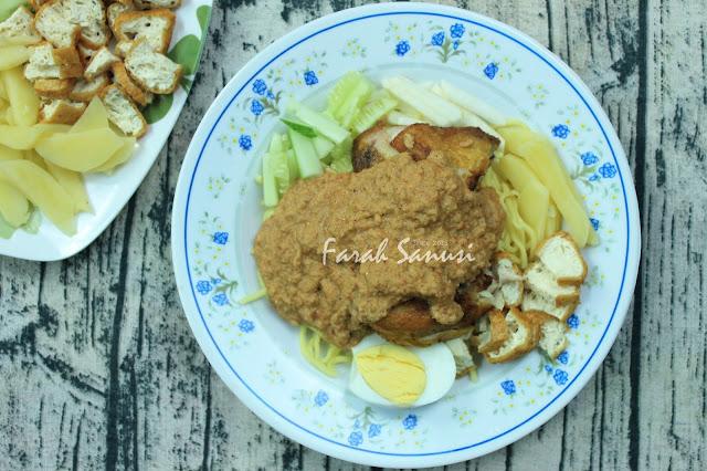 Resepi Mee Rojak Keling dan Kuah Kacang