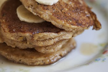 Maple Walnut And Flaxseed Pancakes Jaclyn Stokes
