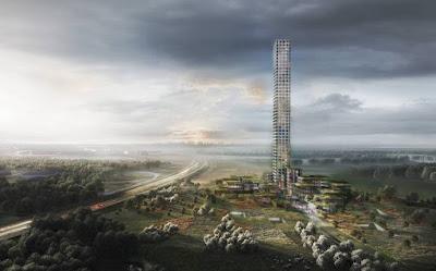 Proposed Povlsen Tower in Jutland