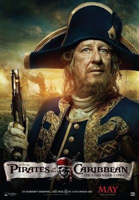 Barbossa - Pirates of the Caribbean 4 Movie
