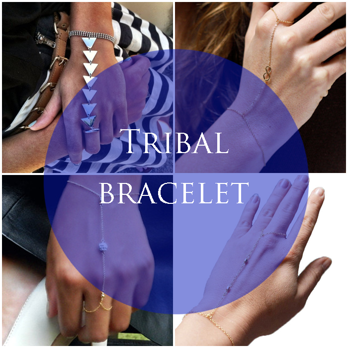 DIY: Tribal bracelet