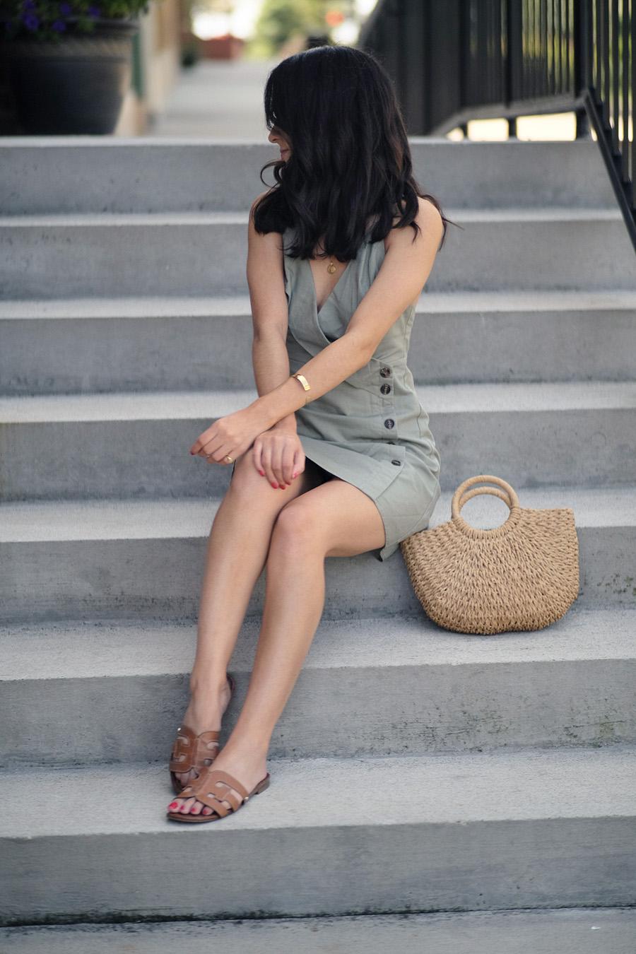 linen dress outfits fall summer