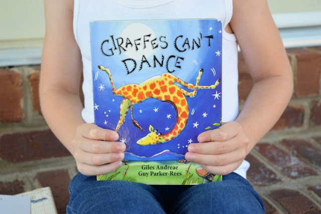 Giraffes Can't Dance, part of May Reading Roundup
