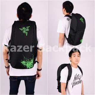 Gaming Bag - Tas Gaming ELITE Backpack - Razer
