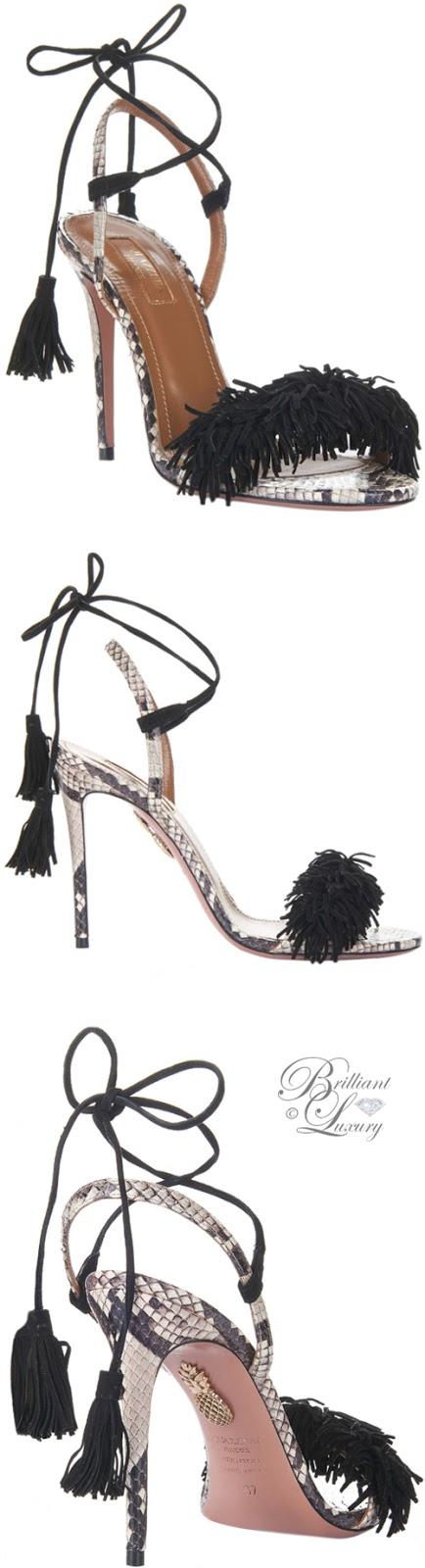 Brilliant Luxury ♦ Aquazzura Wild Thing Sandals