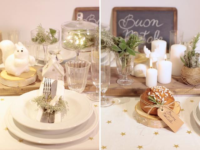 Appunti di casa: Una tavola per Natale con Croff e CasaFacile
