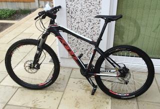 Stolen Bicycle - Felt Hardtail