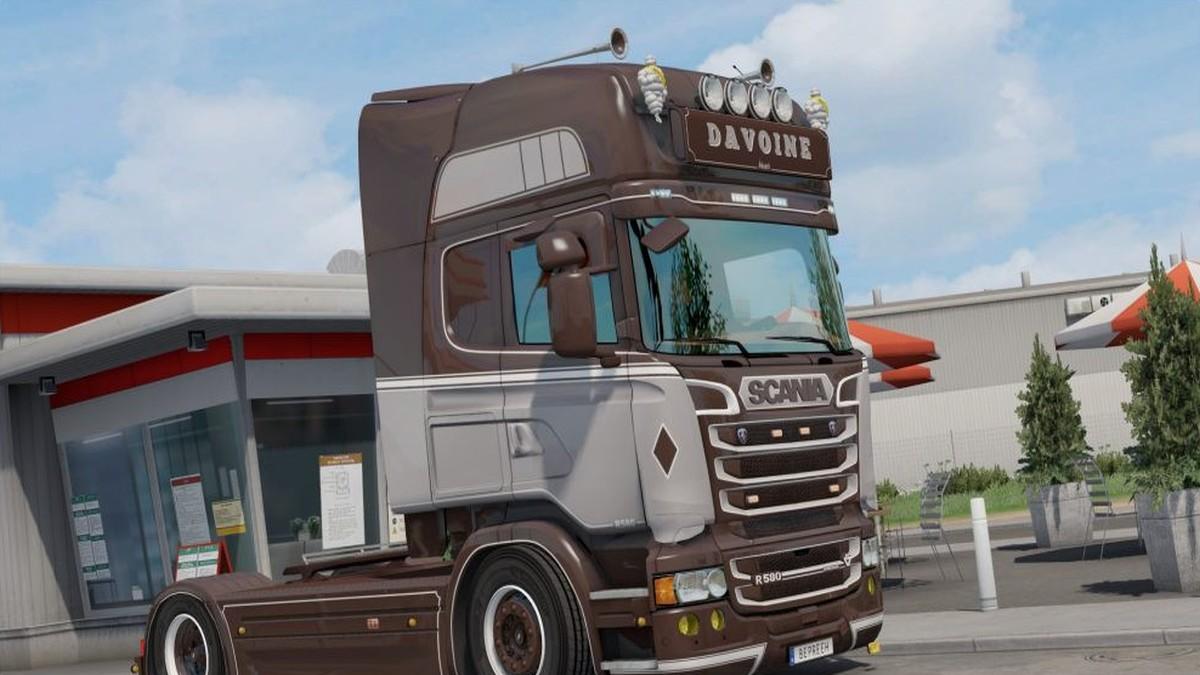 Davoine Transport Skin Scania RJL