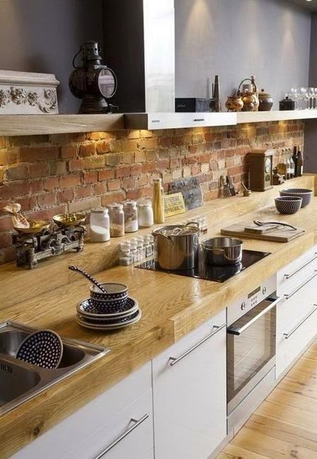 Archilaura home design mattoni a vista dappertutto for Pialorsi arredamenti
