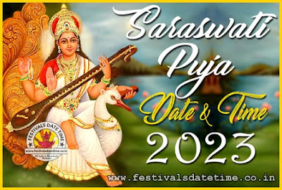 2023 Saraswati Puja Date & Time in West Bengal & India