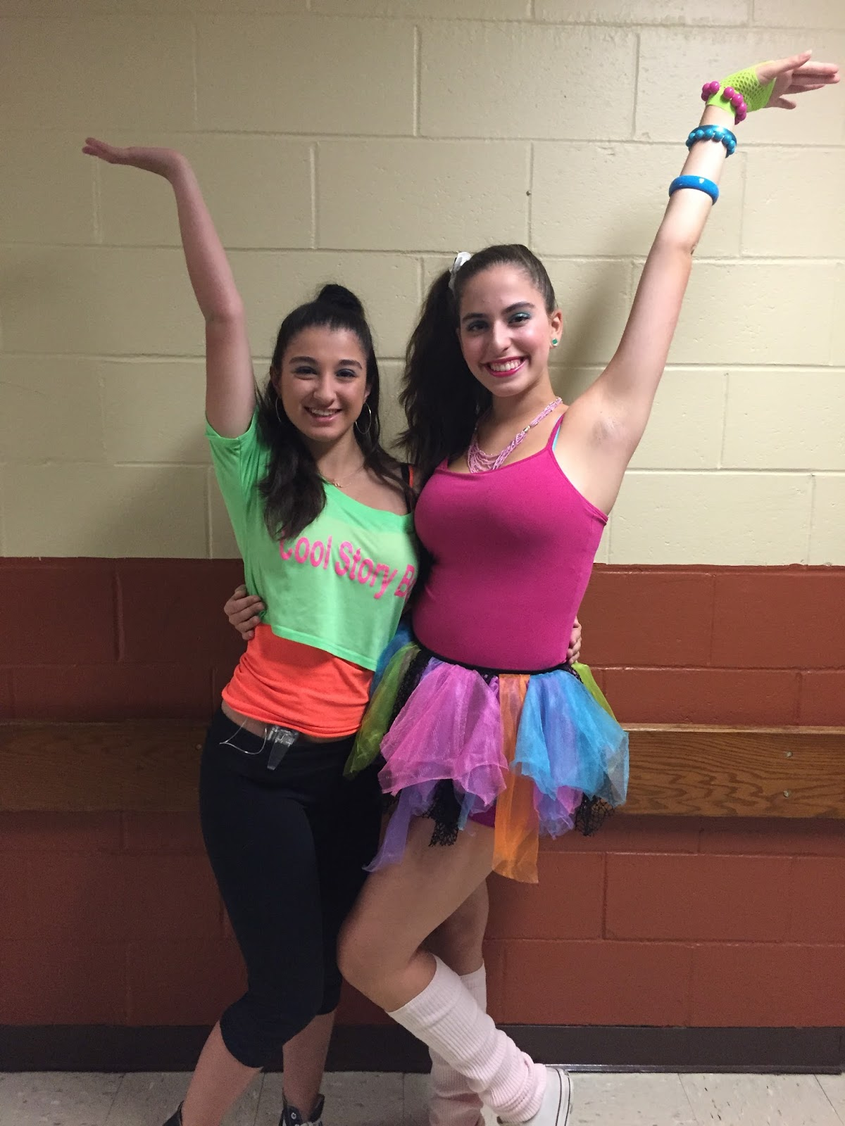 Spirit Week: 80's Day   Tall and Preppy