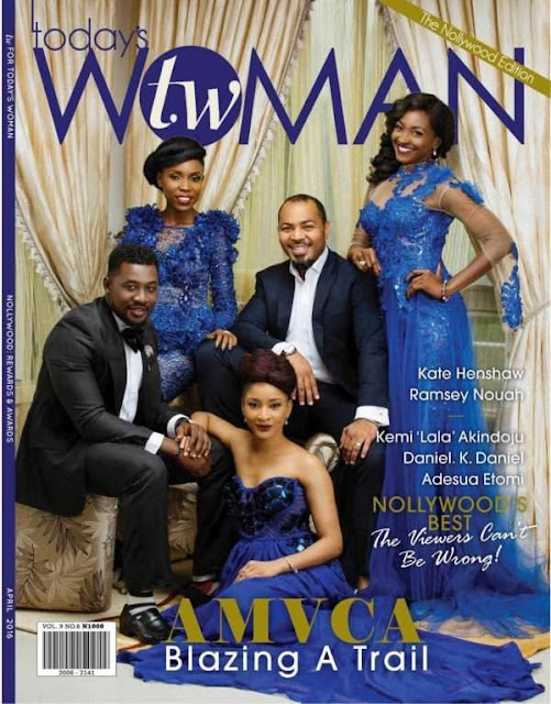 Ramsey Nouah, Kate Henshaw, Adesua Etomi... TW magazine features Nollywood stars on glamorous cover