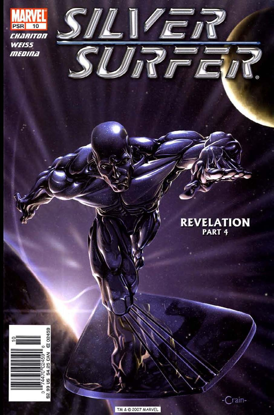 Read online Silver Surfer (2003) comic -  Issue #10 - 1