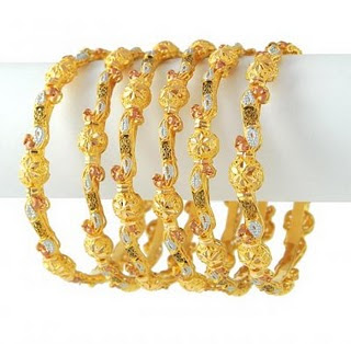 Latest Gold Choria/Bangas Designs