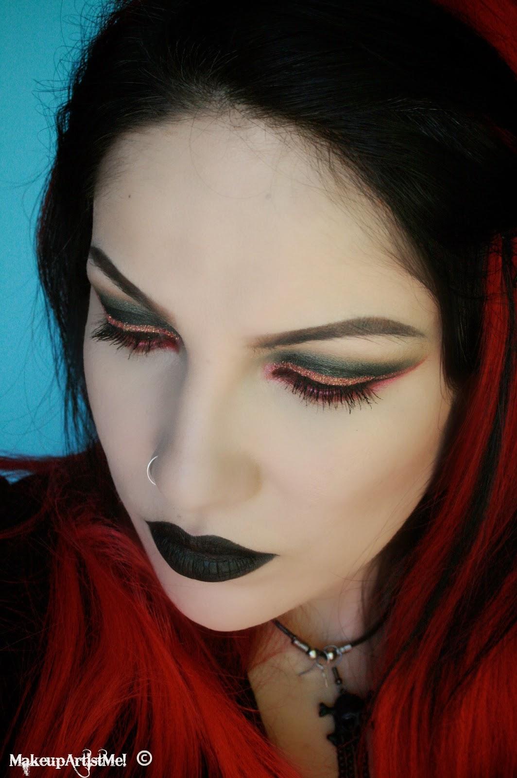 Makeup Artist Youtube: Make-up Artist Me!: My Goth! Makeup Tutorial