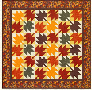 Quilt Inspiration: Free Pattern Day ! Autumn Leaves quilts : maple leaf log cabin quilt pattern - Adamdwight.com