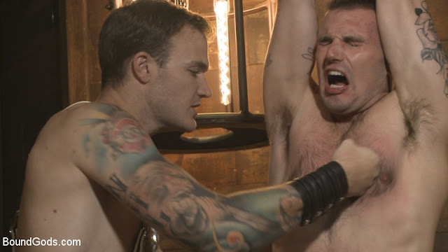 Chris Harder, Christian Wilde – Wild Country Hiker is Kidnapped, Bound, Fucked by Woods Survivalist